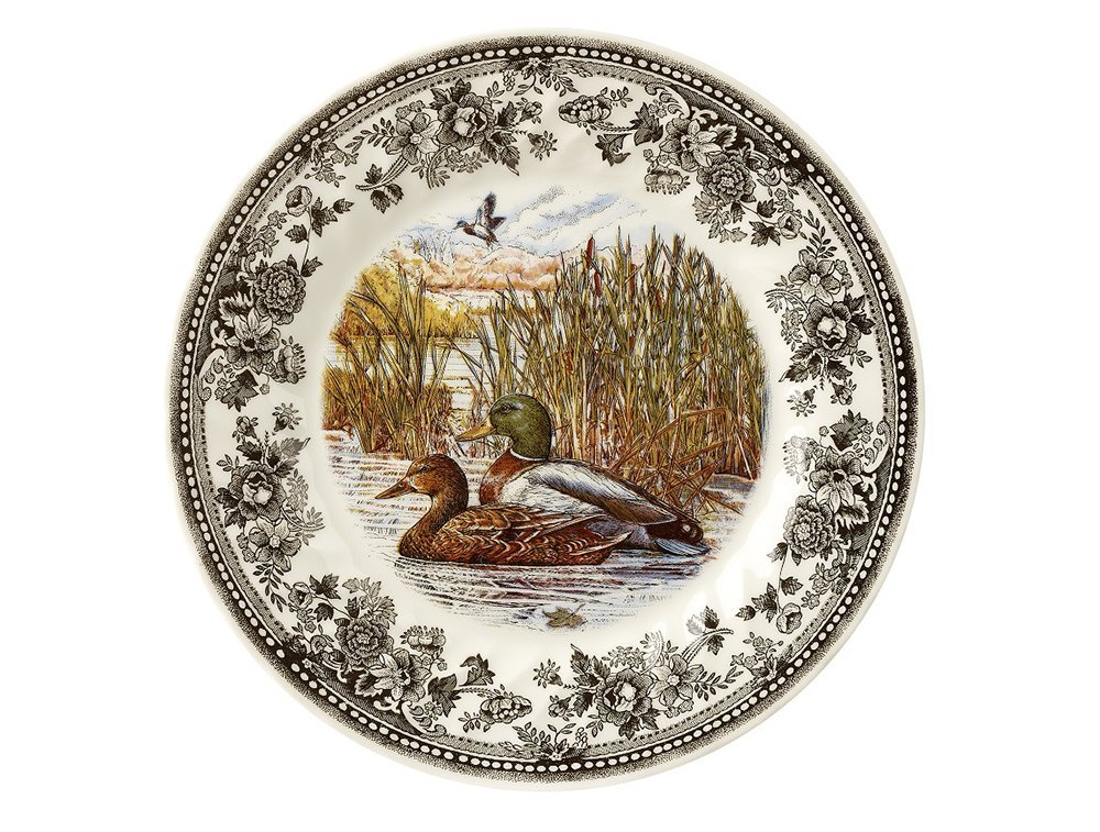 Тарелка обеденная Churchill 25 см Quintessential Game Mallard