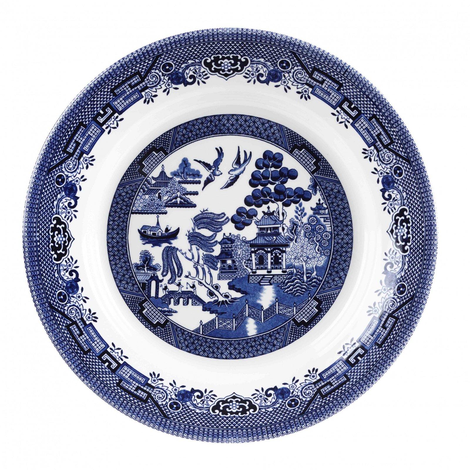 Блюдо Churchill 28,5 см Голубая ива
