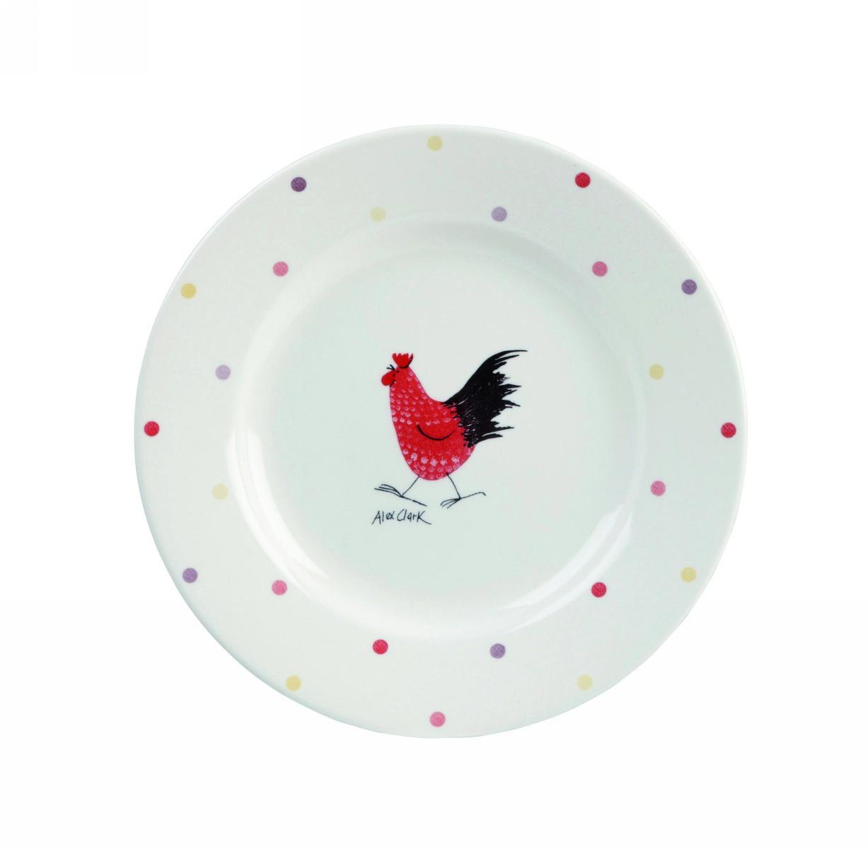 Тарелка десертная 20 см Churchill Петухи от Алекс Кларк