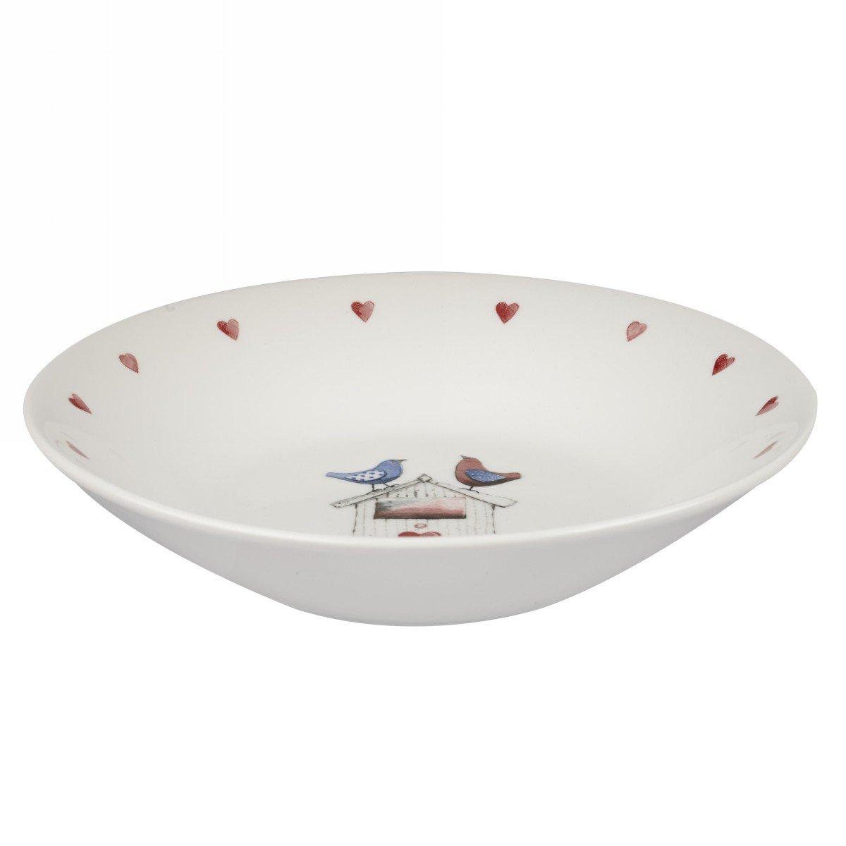 Глубокая тарелка Churchill 20 см Птички от Алекс Кларк