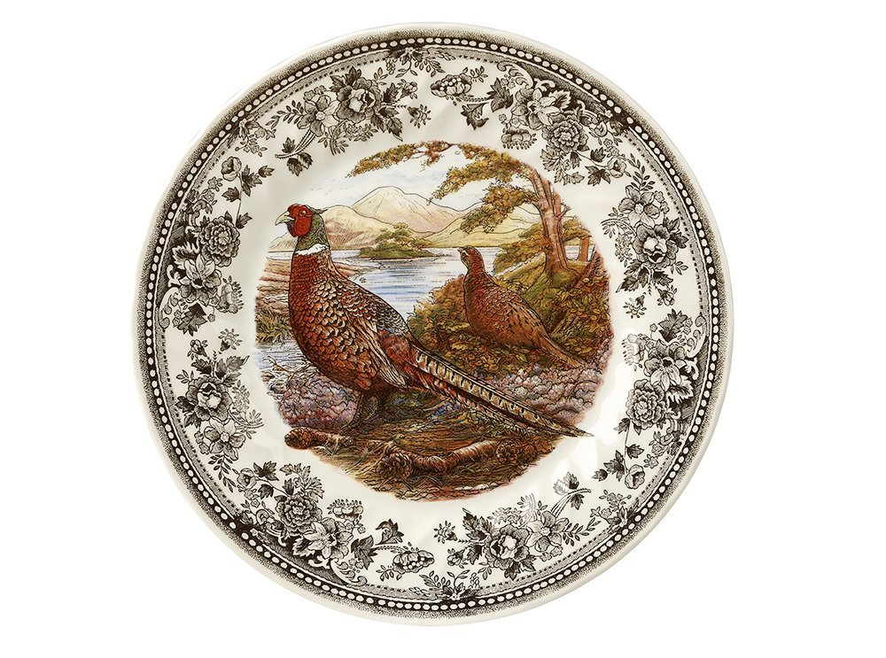 Тарелка суповая Churchill 20 см Quintessential Game Pheasant
