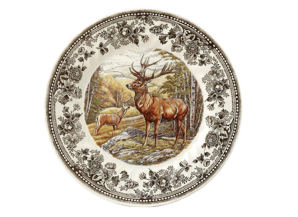 Тарелка обеденная Churchill 25 см Quintessential Game Stag