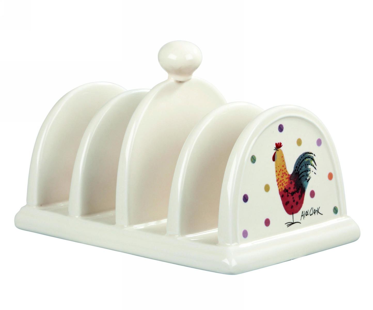 Подставка для тостов 16 х 10,5 х 10,5 см, Churchill Петухи от Алекс Кларк