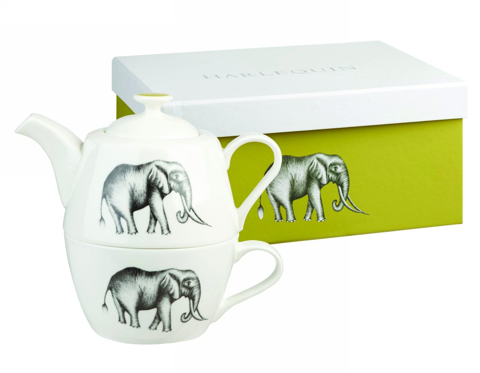 Набор Churchill: кружка и чайник, цвет: белый Саванна от Арлекин
