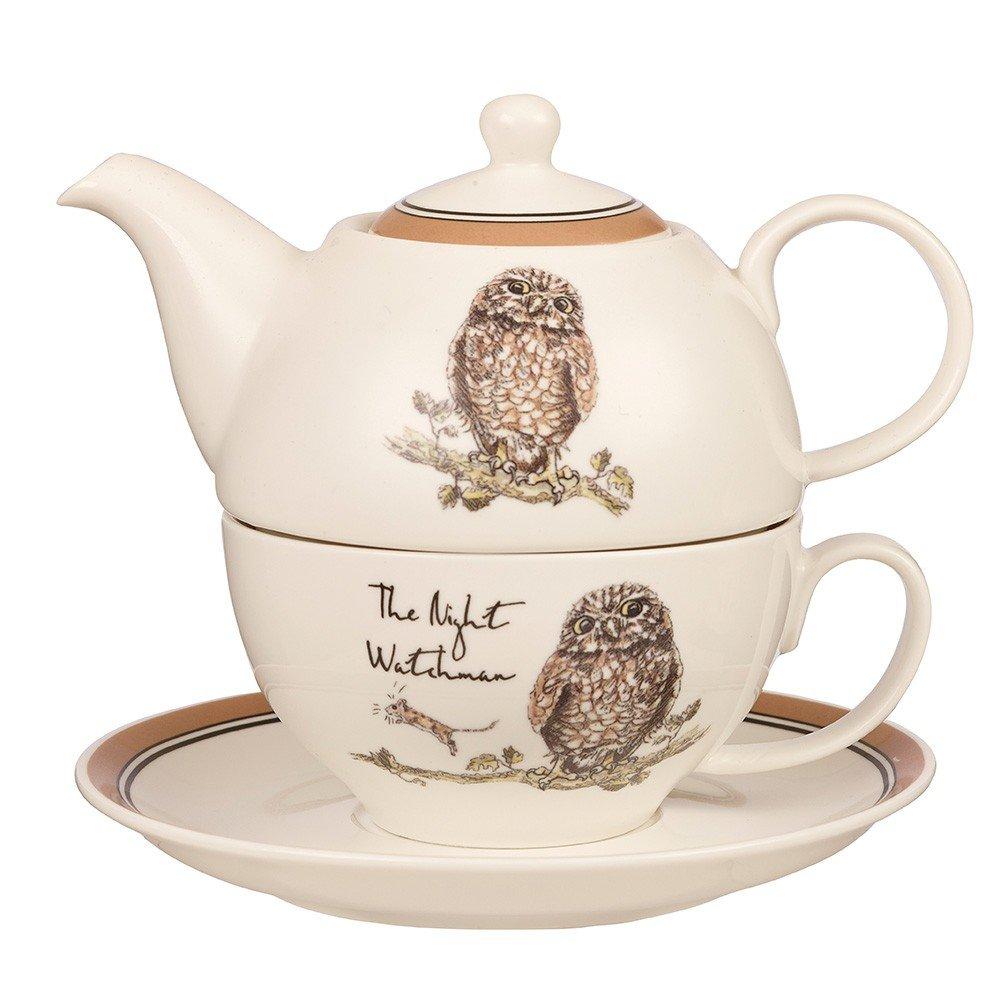 Набор Churchill: чашка с блюдцем 220 мл, чайник 400 мл Сказочная страна от Country Pursuits