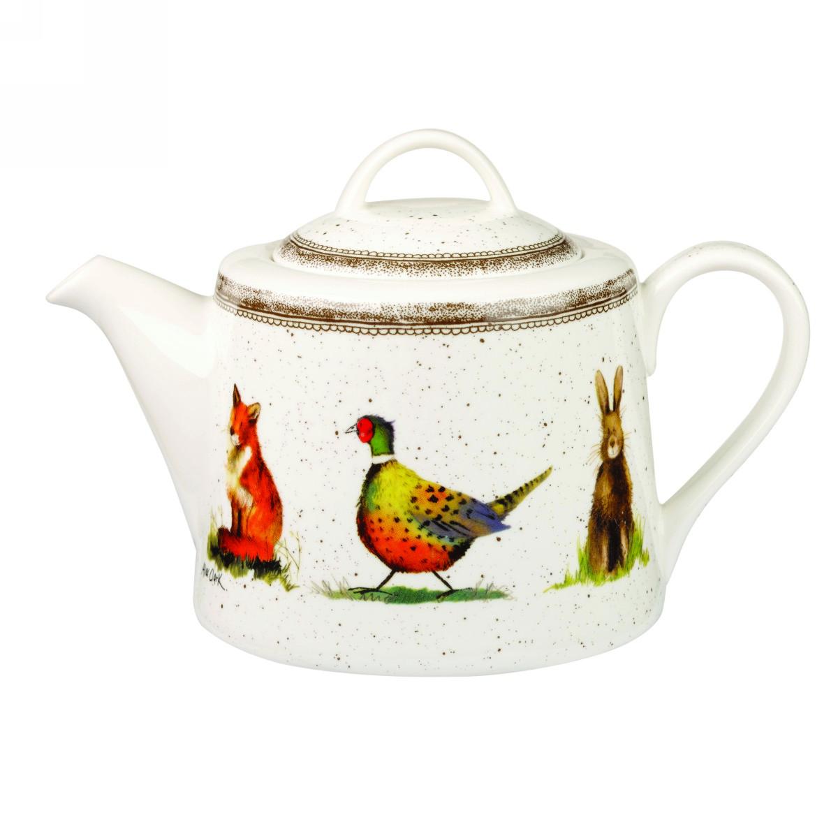 Заварочный чайник Churchill 850 мл Живая природа от Алекс Кларк