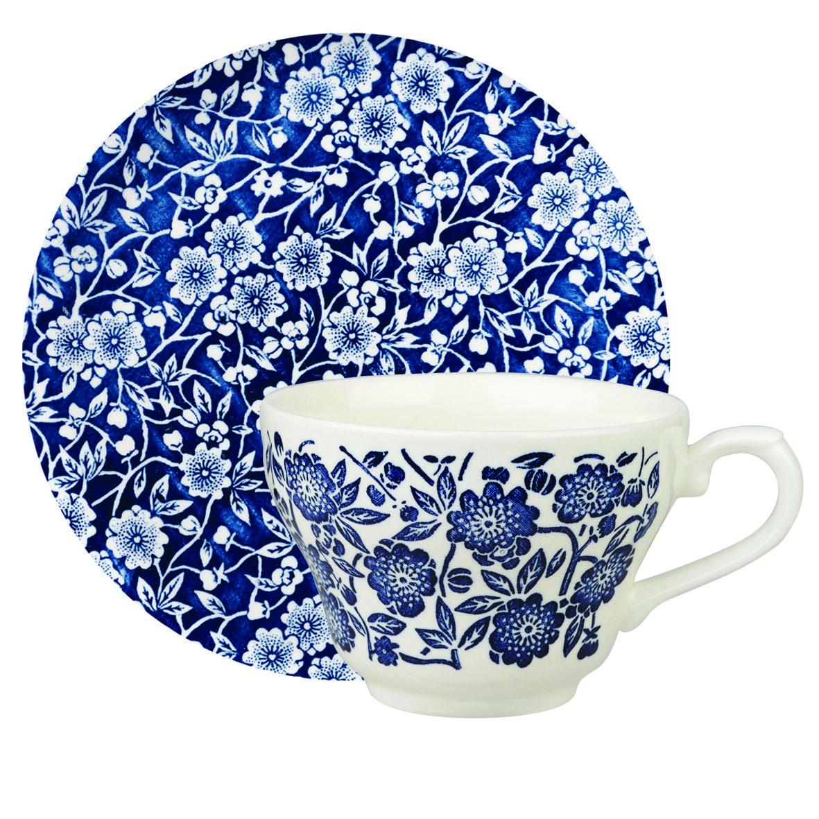 Чашка с блюдцем Churchill 200 мл Викторианский стиль от Queens
