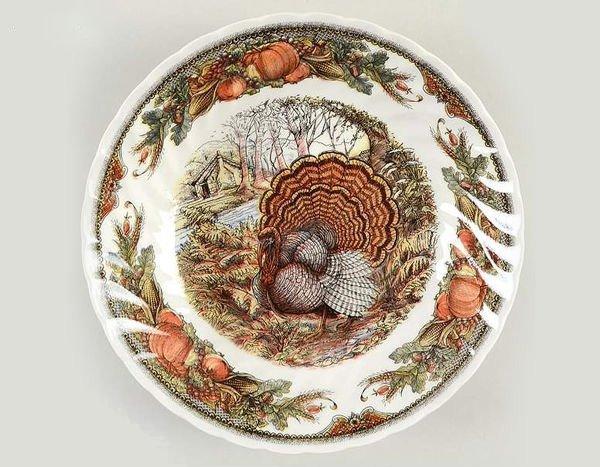 Тарелка глубокая Churchill 22 см Harvest Bounty