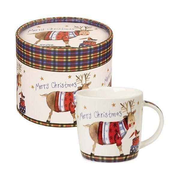 """Кружка Churchill """"Счастливого Нового Года"""" 284 мл в подарочной  коробке Подарок от Алекс Кларк"""