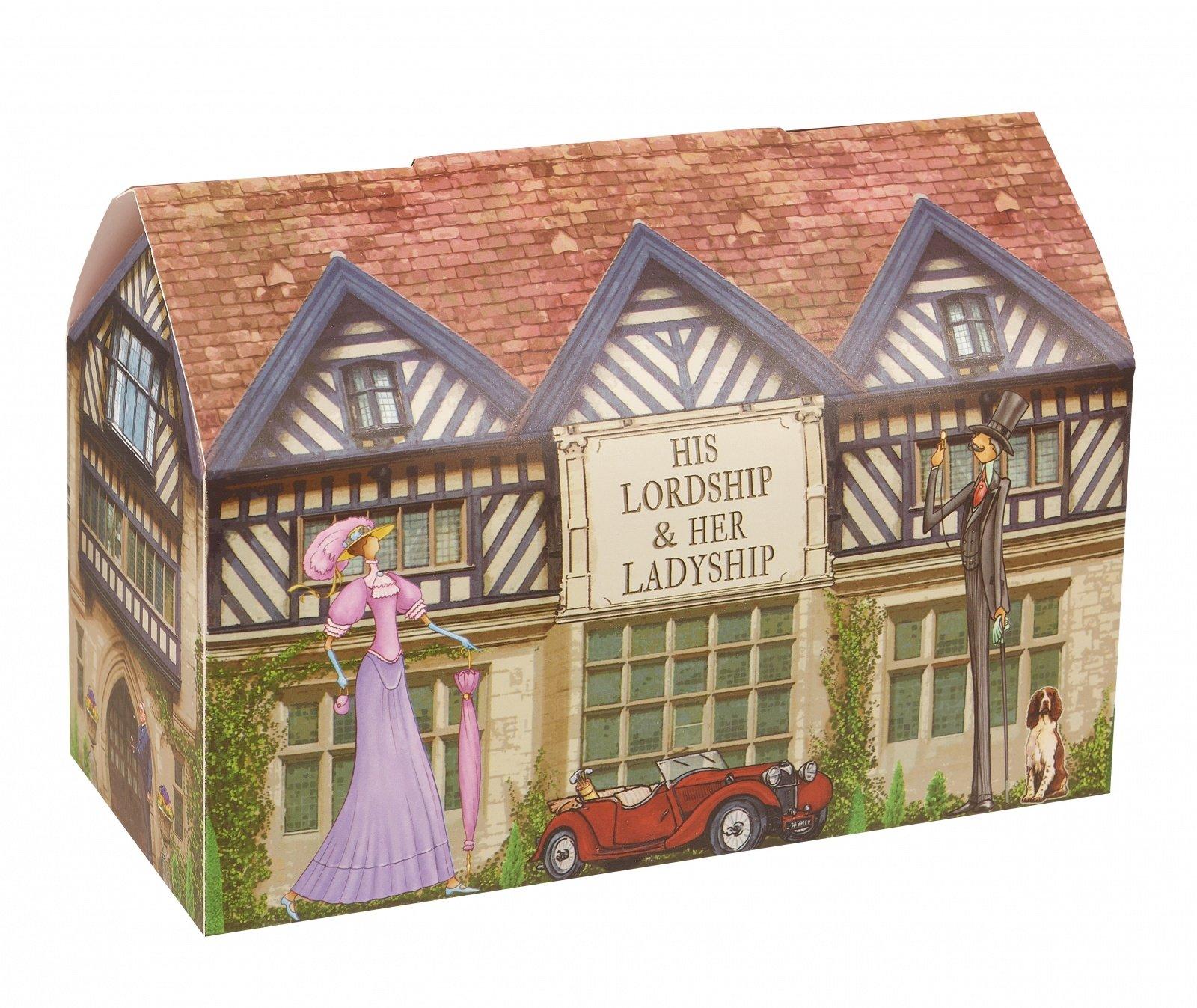 """Набор кружек Churchill """"Лорд и Леди"""" 400 мл в подарочной коробке """"На досуге"""""""
