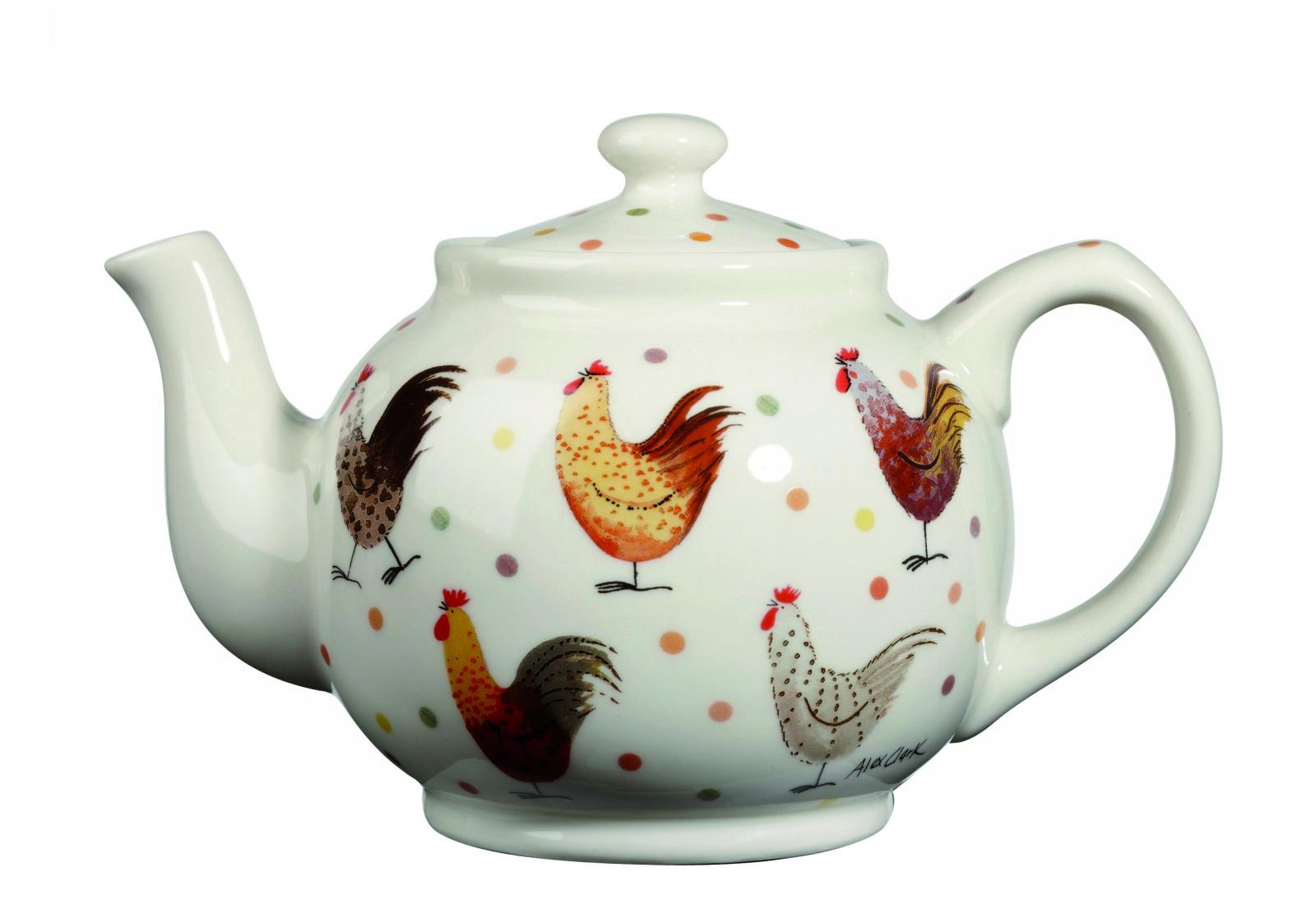 Чайник 850 мл Churchill Петухи от Алекс Кларк