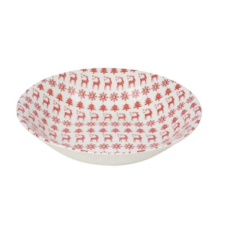 Суповая тарелка 20 см Christmas Jumper Churchill