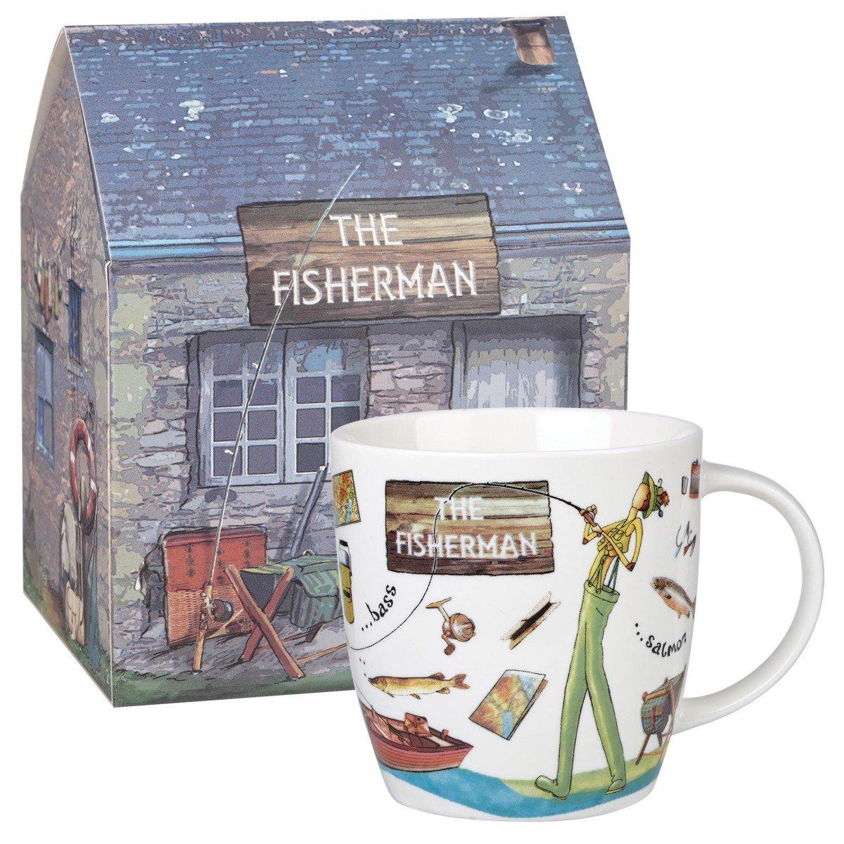 """Кружка Churchill """"Рыбак"""" 400 мл в подарочной коробке"""