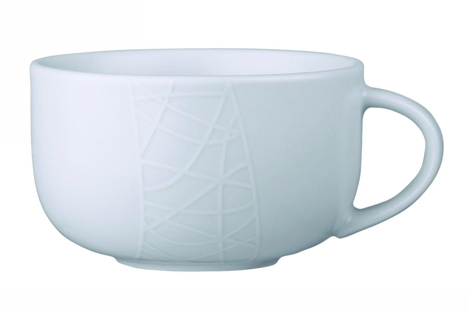 Чайная чашка Churchill 300 мл Белое на белом от Джейми Оливер