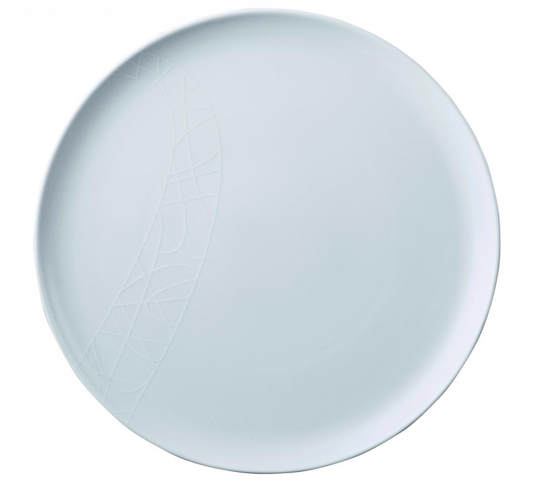 Тарелка Churchill 19 см Белое на белом от Джейми Оливер