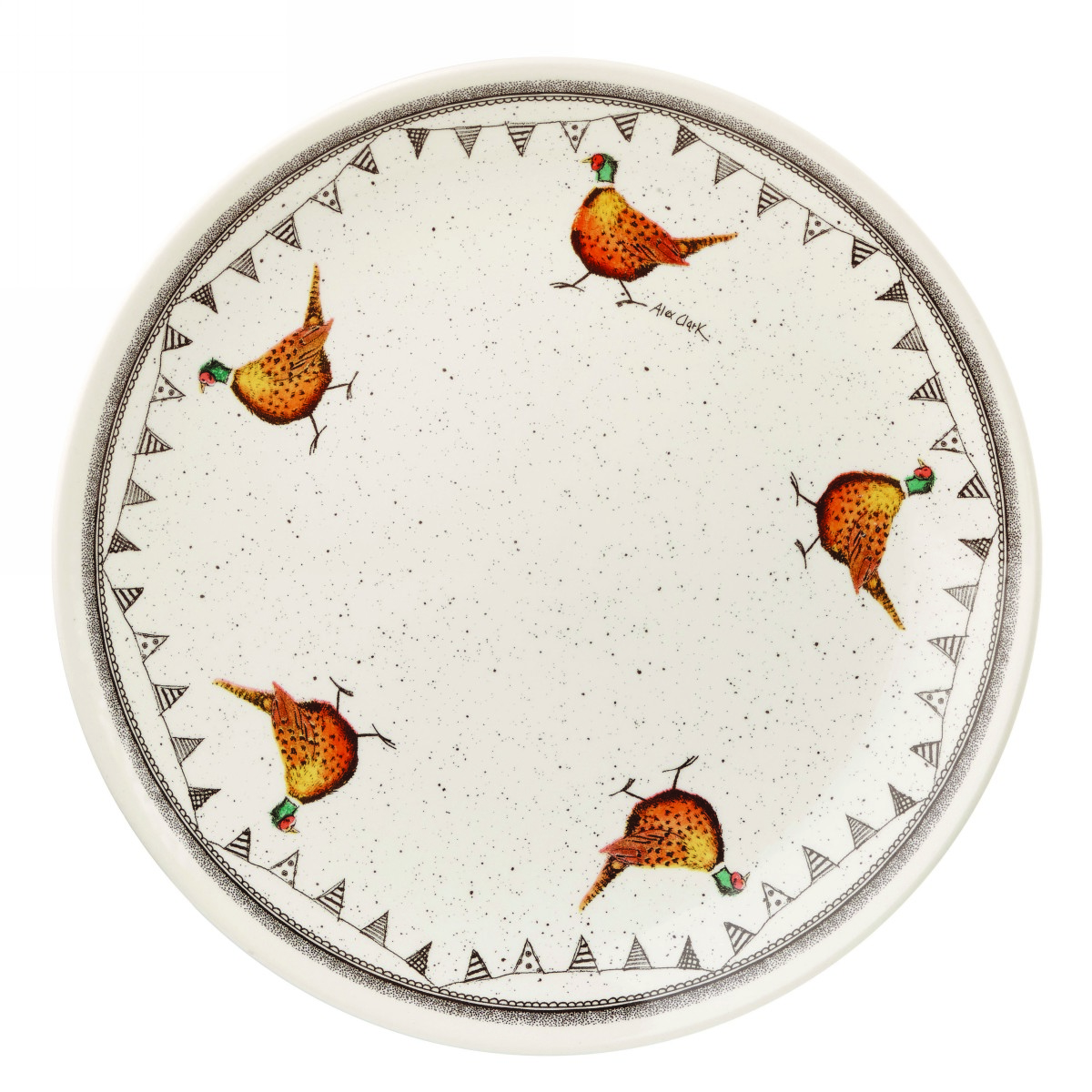 Тарелка столовая Churchill 26 см Живая природа от Алекс Кларк