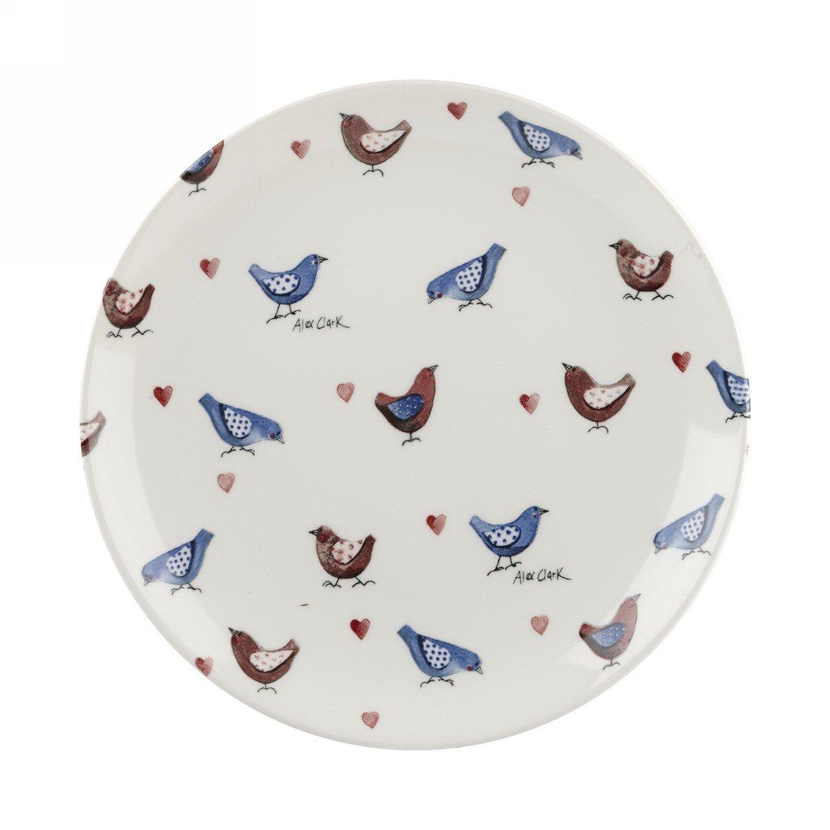 Тарелка Churchill 20 см Птички от Алекс Кларк