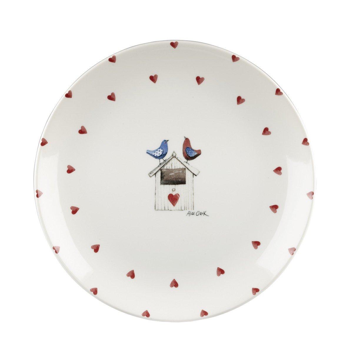 Тарелка Churchill 26 см Птички от Алекс Кларк