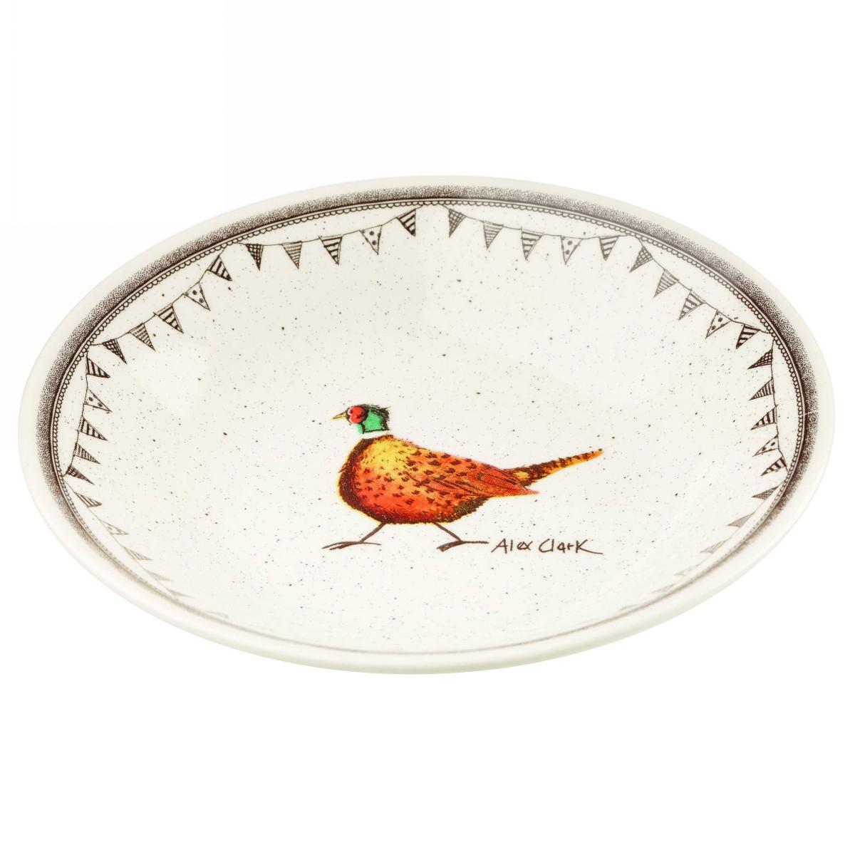 Тарелка суповая Churchill 20 см Живая природа от Алекс Кларк