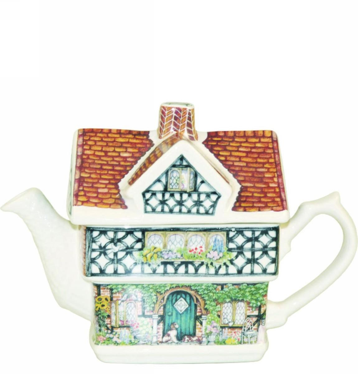 """Чайник-домик Churchill """"Энн Хэтэуэй"""" 500 мл Английский домик от Джеймс Садлер"""