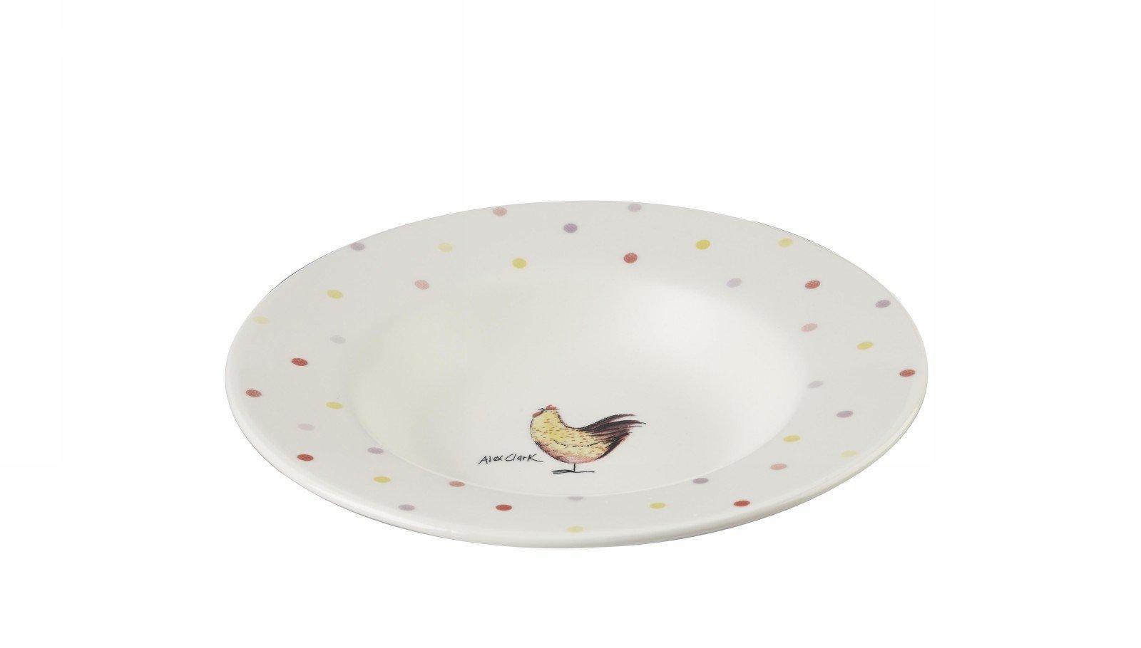 Тарелка для супа 22 см Churchill Петухи от Алекс Кларк