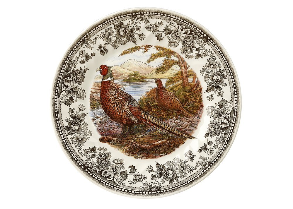 Тарелка десертная Churchill 20 см Quintessential Game Pheasant
