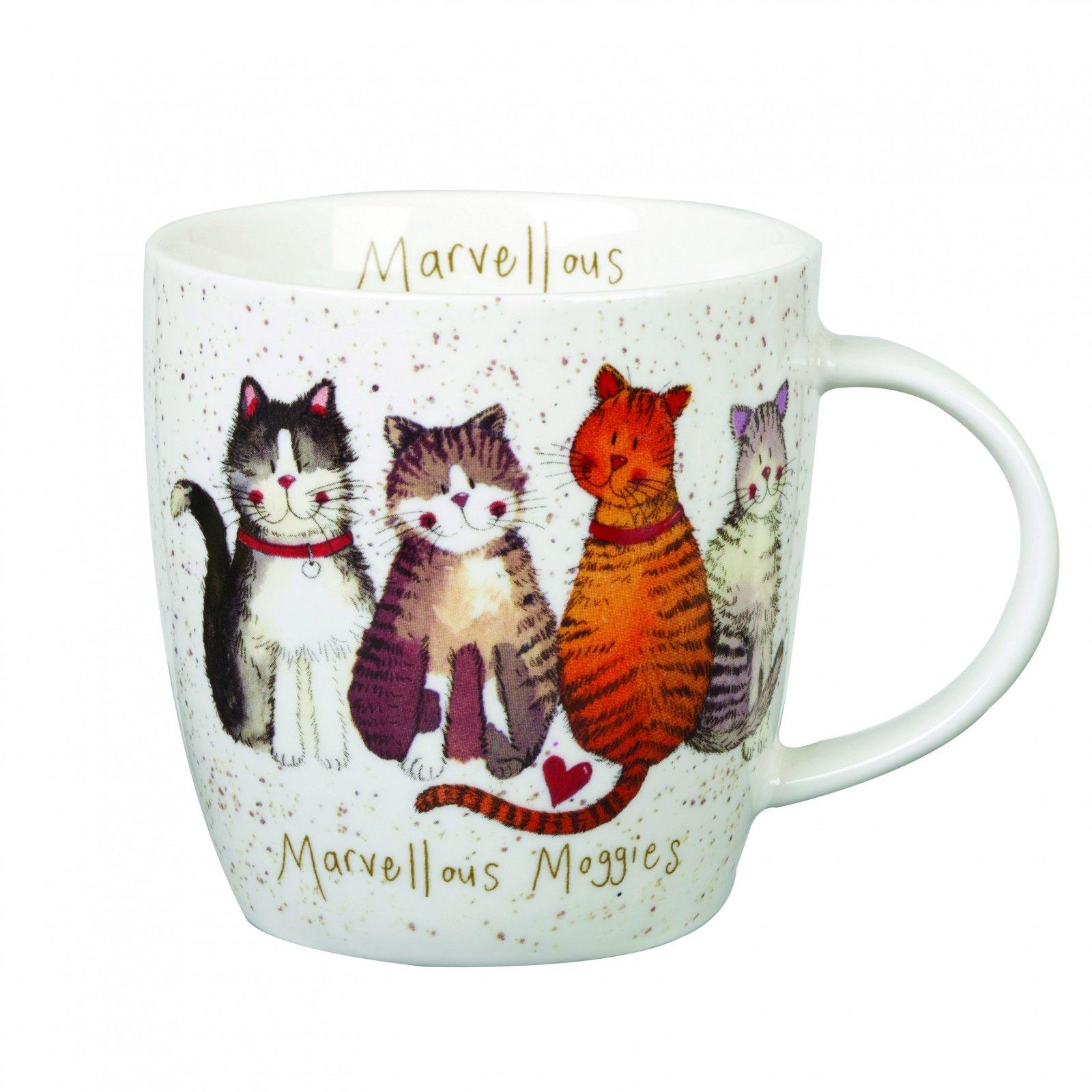 "Кружка Churchill ""Чудесный котик"" 400 мл от Алекс Кларк"