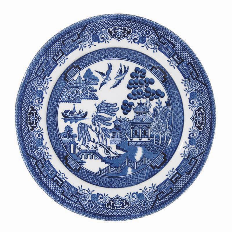 Тарелка десертная Churchill 17 см Голубая ива