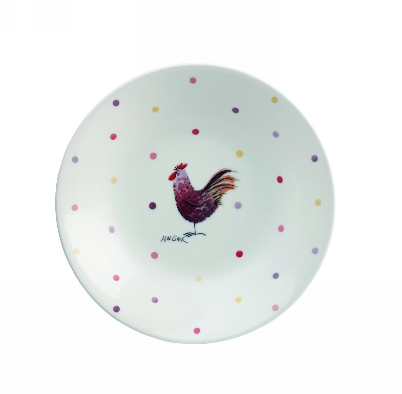 Тарелка для супа 20 см Churchill Петухи от Алекс Кларк