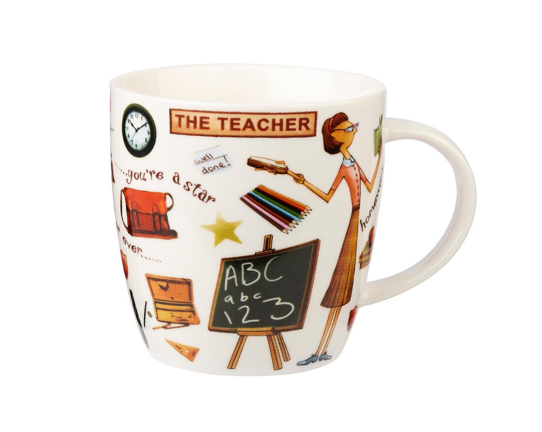 """Кружка Churchill """"Учитель"""" 400 мл в подарочной коробке """"На досуге"""""""
