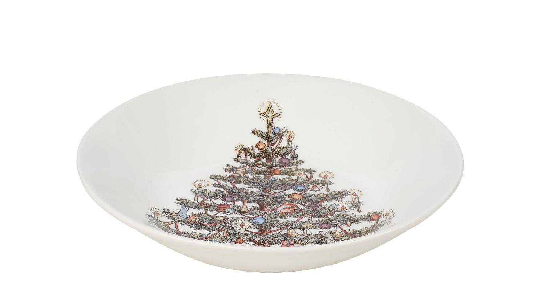 Тарелка для каши Churchill 20 см Рождество