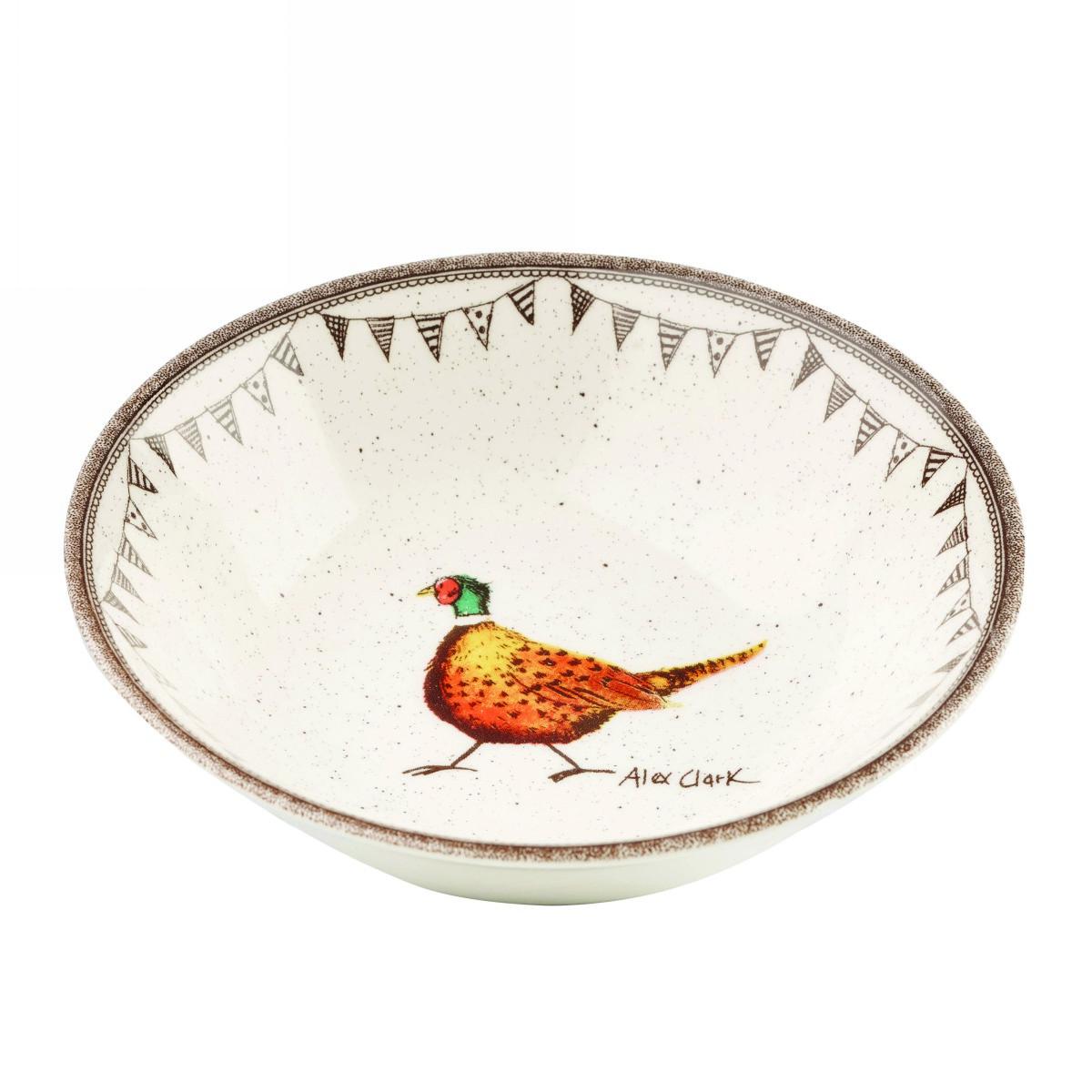 Тарелка для каши Churchill 15 см Живая природа от Алекс Кларк