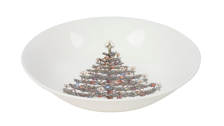 Тарелка суповая Churchill 22 см Рождество