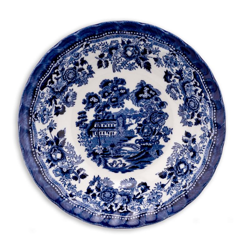 Тарелка для каши 15,5 см Тонкин блю Churchill