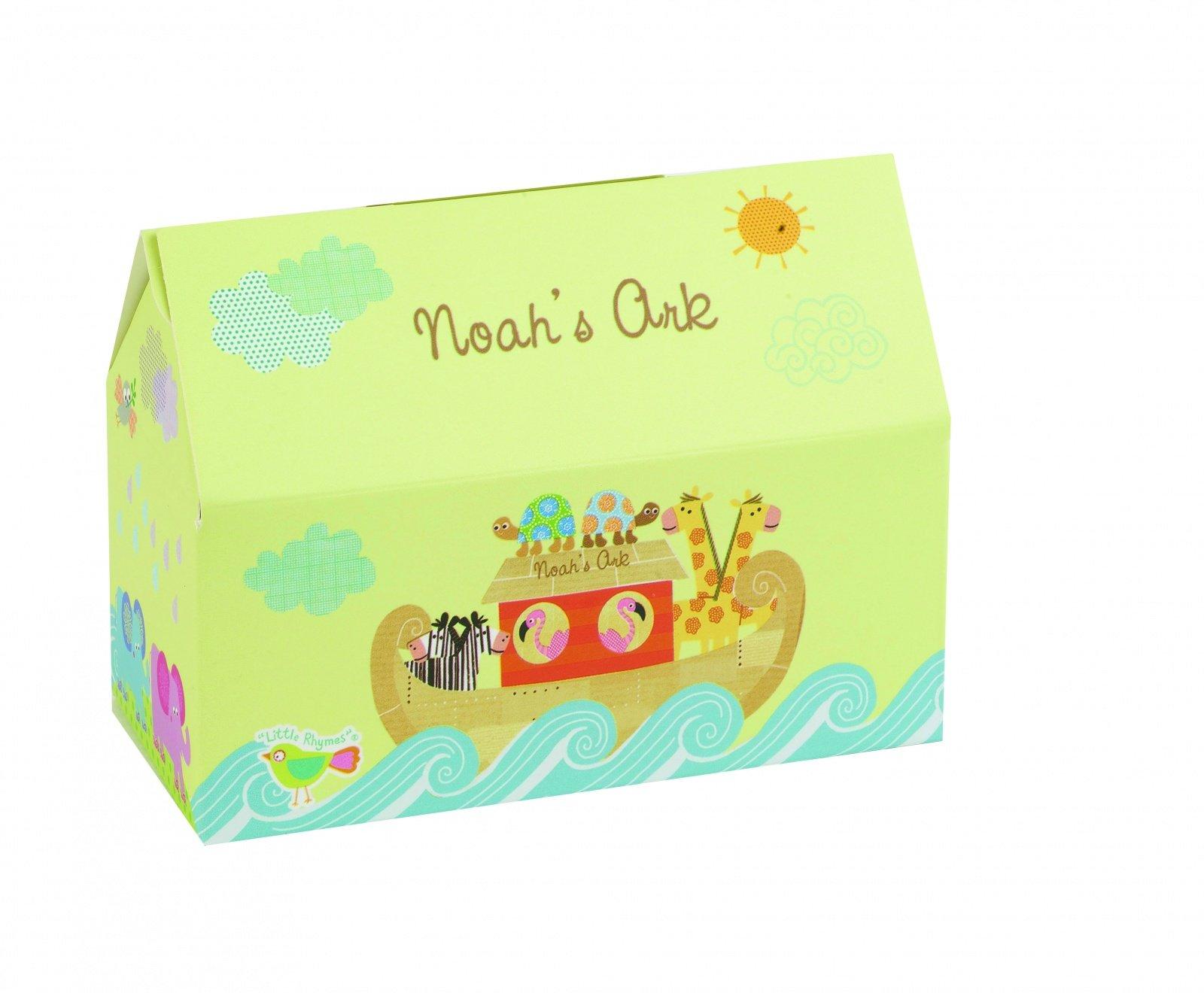 """Набор подставок для яиц в коробке 2шт Churchill """"Ноев ковчег"""" Little Rhymes"""