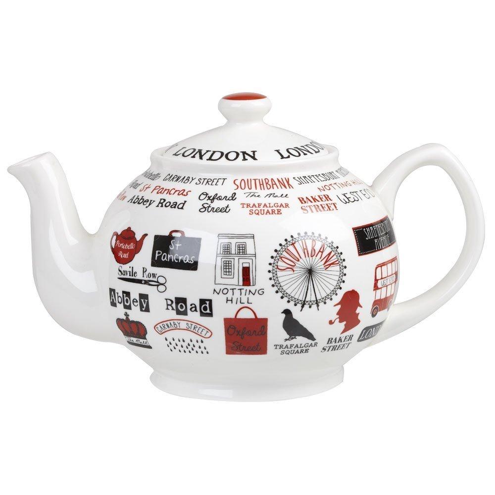 "Чайник ""Лондон"" 850 мл Churchill ""Достопримечательности Англии"" Джеймс Садлер"