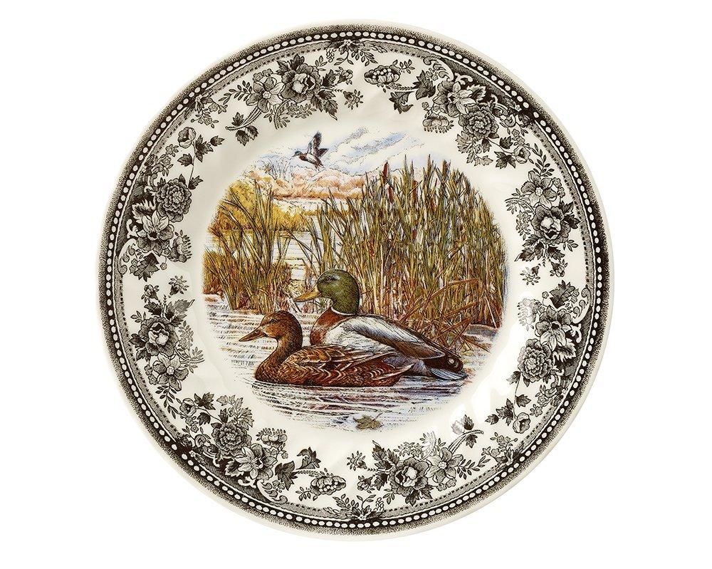 Тарелка суповая Churchill 20 см Quintessential Game Mallard