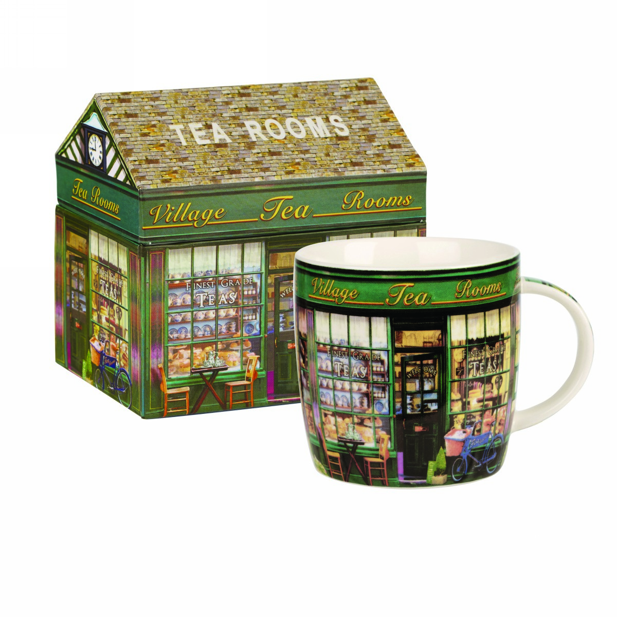 """Кружка Churchill """"Чайный домик"""" 284 мл в коробке Английский домик от Джеймс Садлер"""