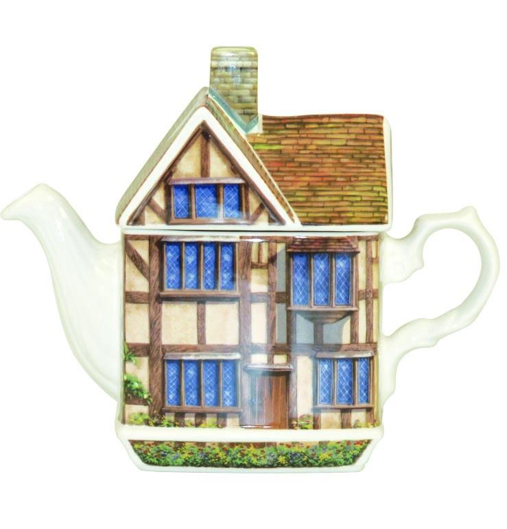 "Чайник-домик Churchill ""Домик Шекспира"" 500 мл Английский домик от Джеймс Садлер"