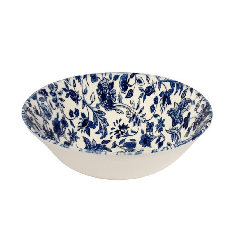 """Тарелка 15 см """"Античные цветы"""" Antique Floral Churchill для каши"""