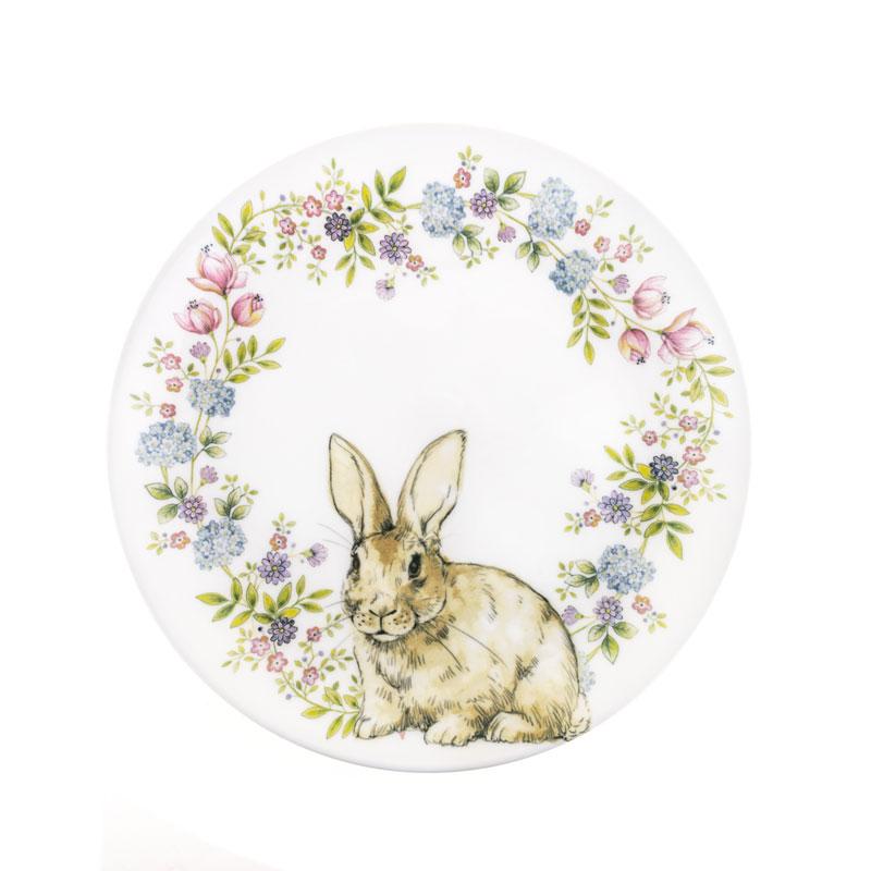 Тарелка 26 см Кролик в венке Churchill