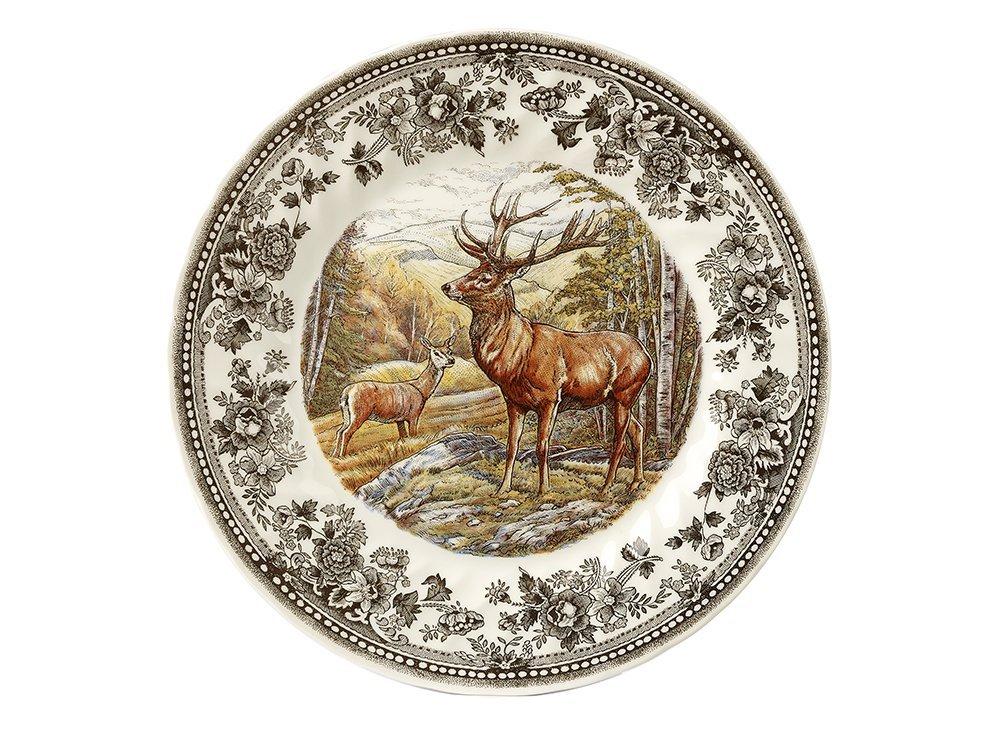 Тарелка суповая Churchill 20 см Quintessential Game Stag